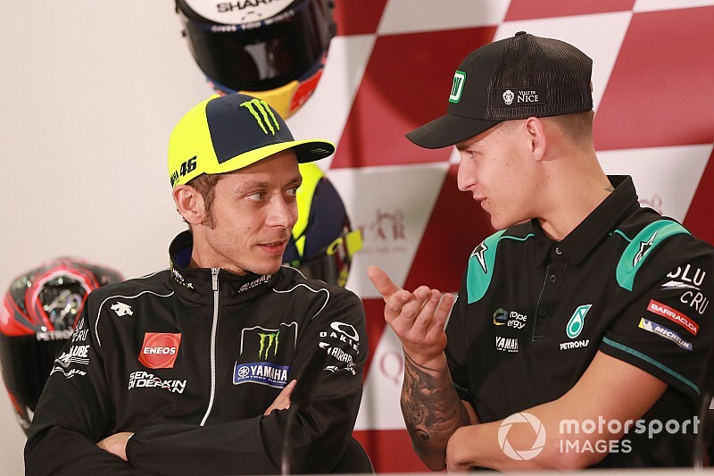 Quartararo espère que Rossi restera en MotoGP