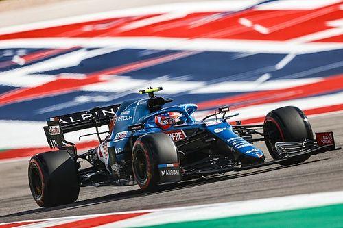 Esteban Ocon: COTA Perlu Perbaikan untuk F1 2022