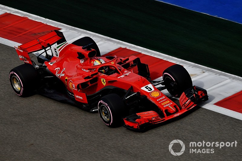 Vettel: Recapeamento parcial da pista de Sochi foi um erro