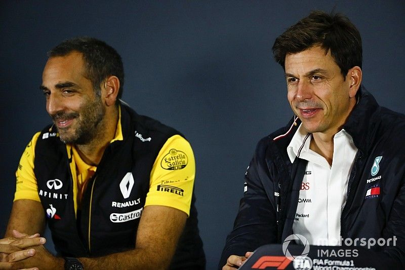 La 'traición' de Renault dolió a Wolff, pero no rompió la relación