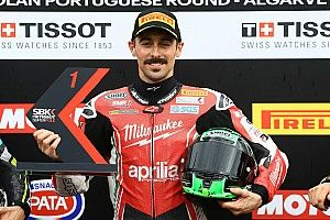 Portimao WSBK: Laverty grabs first Aprilia pole since 2015
