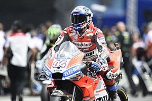Austria MotoGP: Dovizioso tops FP1, problems for Rossi
