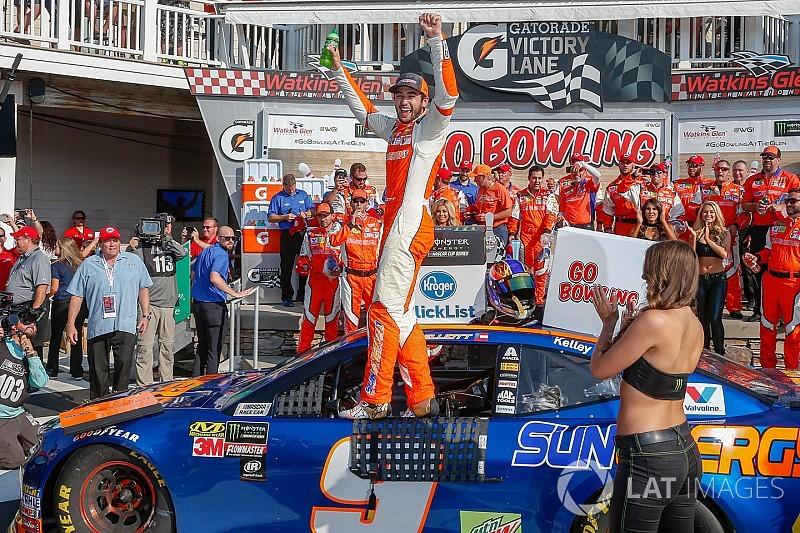 NASCAR in Watkins Glen: Premierensieg für Chase Elliott