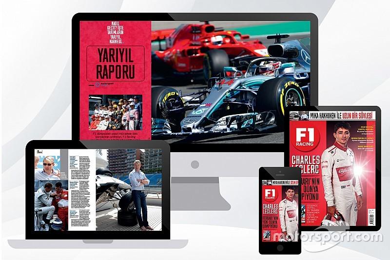 F1 Racing Eylül sayısı ön satışı başladı
