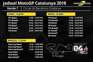Jadwal lengkap MotoGP Catalunya 2018