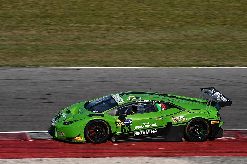 Misano, Libere 2: Zampieri ed Altoè portano in vetta la Lamborghini