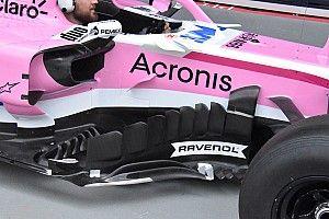 Force India: scopriamo le molte novità della VJM11 che è un'evoluzione spinta