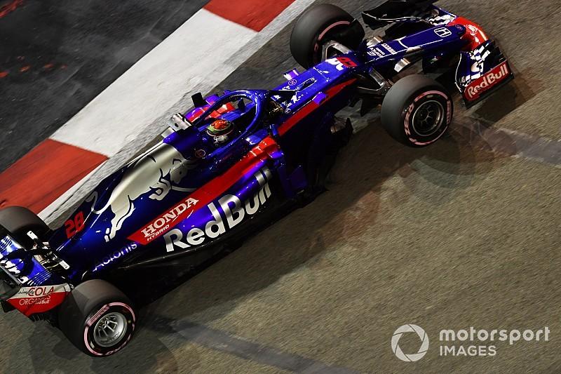 シンガポールFP2速報:ライコネン首位。トロロッソのハートレー17番手