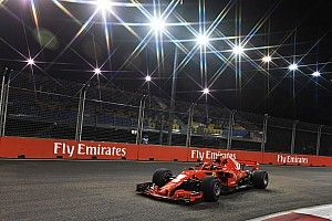 Singapore GP: Raikkonen tops FP2, setback for Vettel