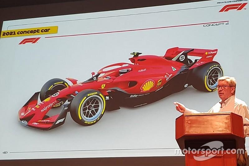 Erstes Bild: So sollen die Formel-1-Boliden ab 2021 aussehen