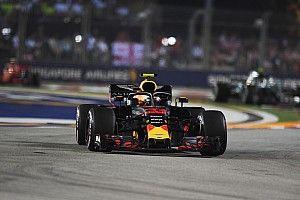 """Horner: """"Verstappen heeft de wielen van zijn auto gereden"""""""