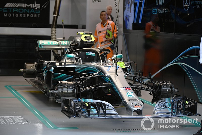 Formel-1-Technik 2018: So wischte Mercedes die Reifenprobleme weg