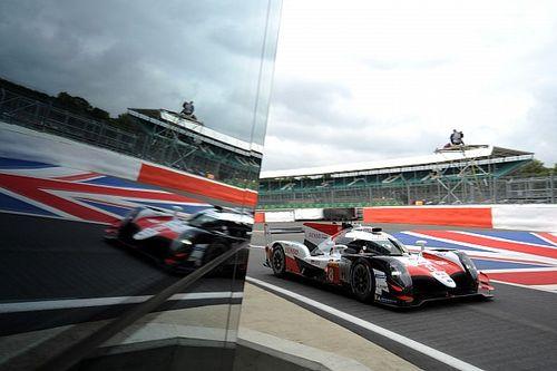 Képekben Alonso szereplése a Toyotával Silverstone-ból