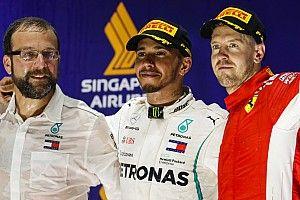 Hamilton bangga tak buat kesalahan seperti Vettel
