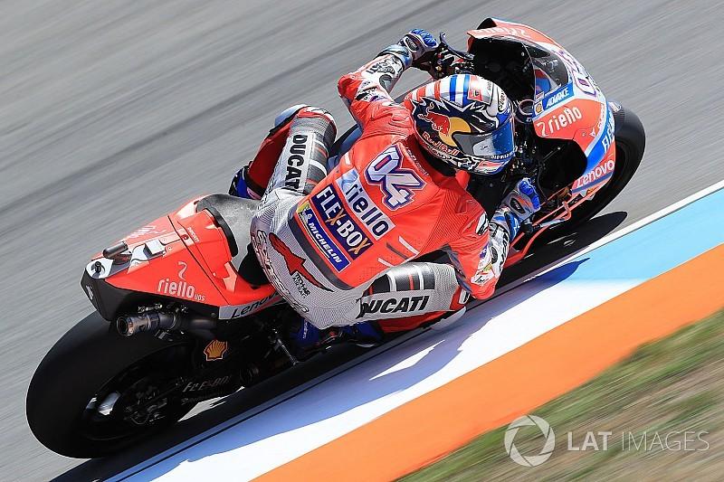 Dominio Ducati a Brno: Dovizioso torna alla vittoria davanti a Lorenzo e Marquez