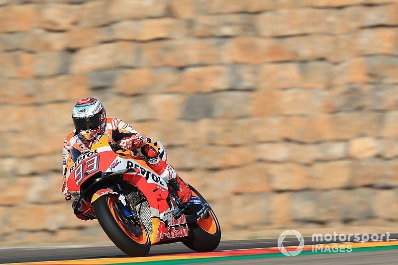 """Márquez: """"Detecté algunos puntos débiles de la Yamaha, pero que los encuentren ellos"""""""