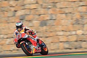 Honda mit höherem Topspeed als Ducati: Marquez in Aragon stark