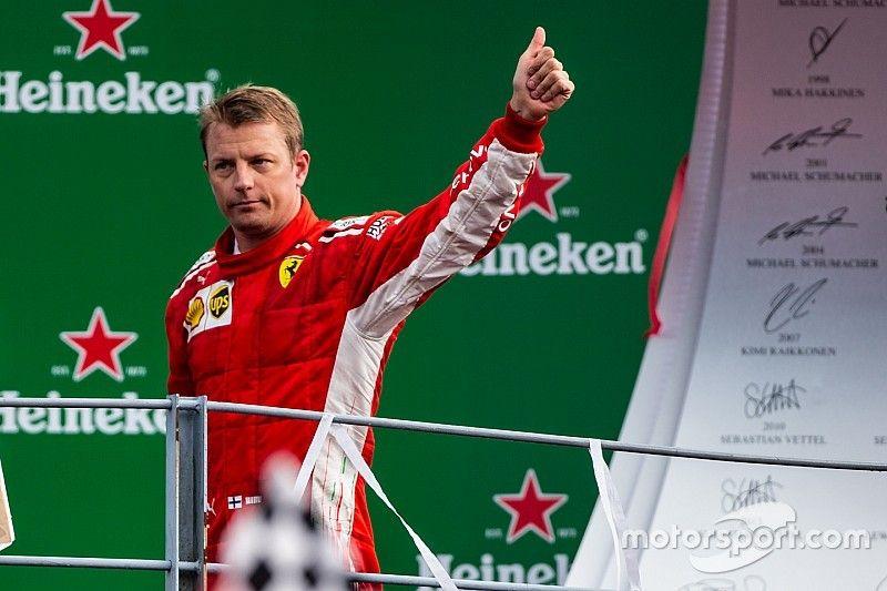 Raikkonen to step down from Ferrari role after 2018