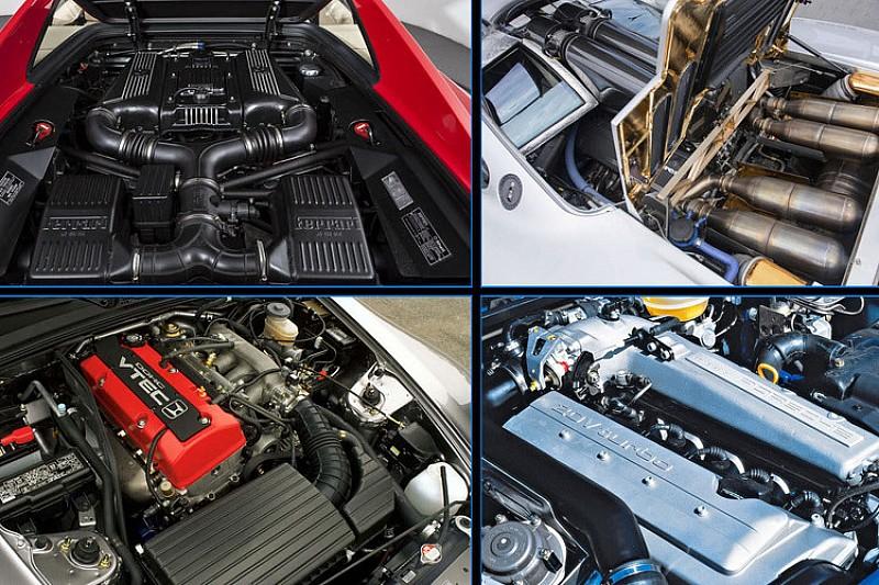 Los mejores motores de coches de los años 90