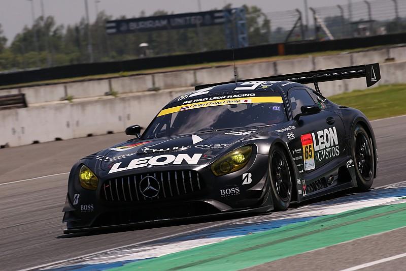 第4戦タイ:GT300クラスは最後の最後に波乱、LEON AMGが今季初ポール