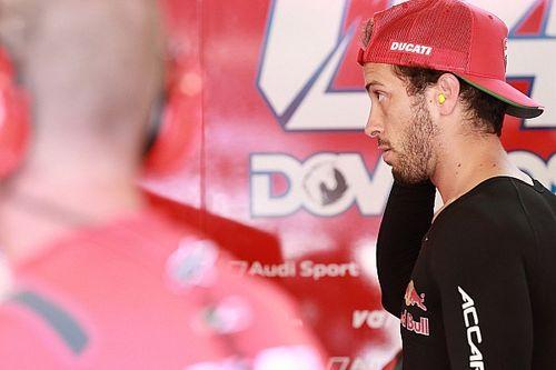 Dovizioso a dobogó ellenére sem elégedett a Ducatival