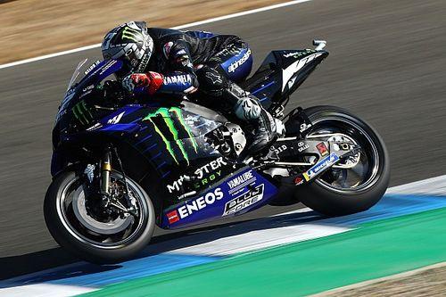 """MotoGP, Andalusia, Libere 3: Vinales da record, Marquez a 1""""3"""