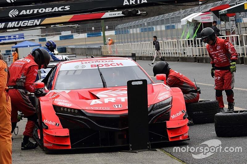 ARTA NSX-GTの野尻智紀、岡山テストで速さをみせるも「まだ改善が必要」