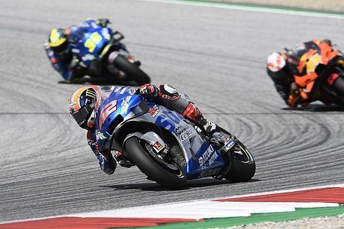 Rins felt Austria MotoGP win was possible before crash