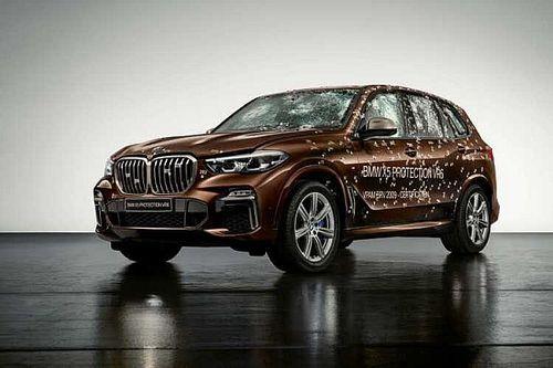 A BMW X5 Protection VR6 nem megállítja a golyókat, hanem elpusztítja azokat