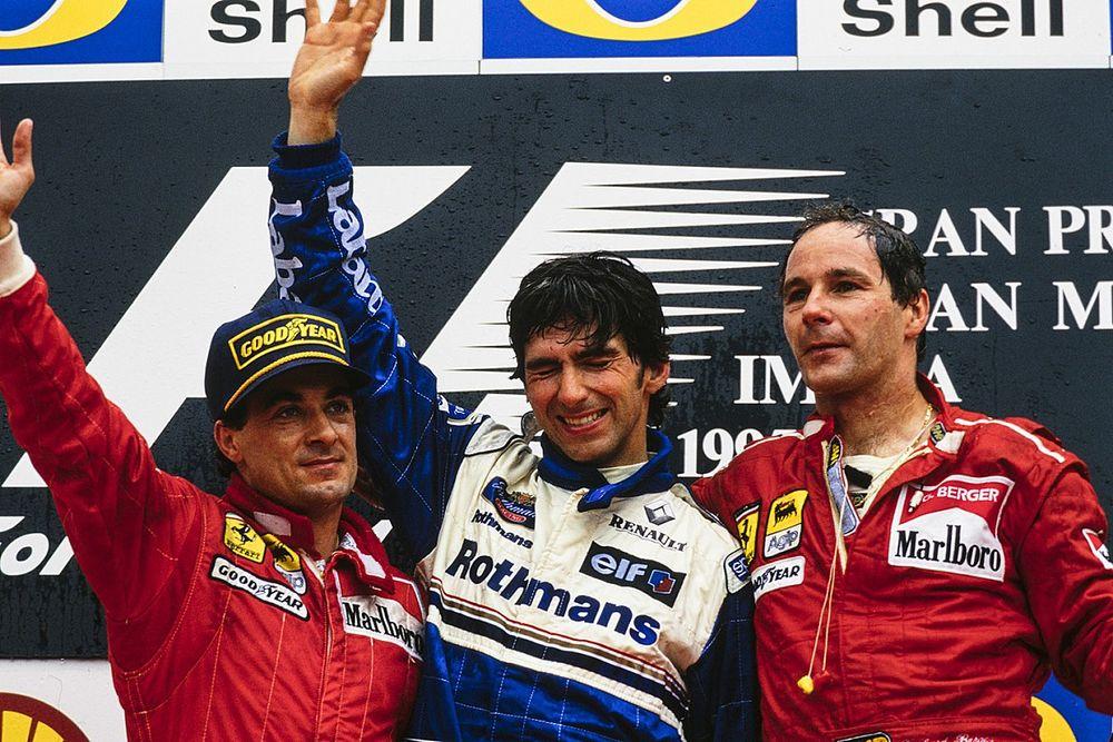 Как испортить карьеру чемпиона Ф1 за две минуты? Пример из 90-х