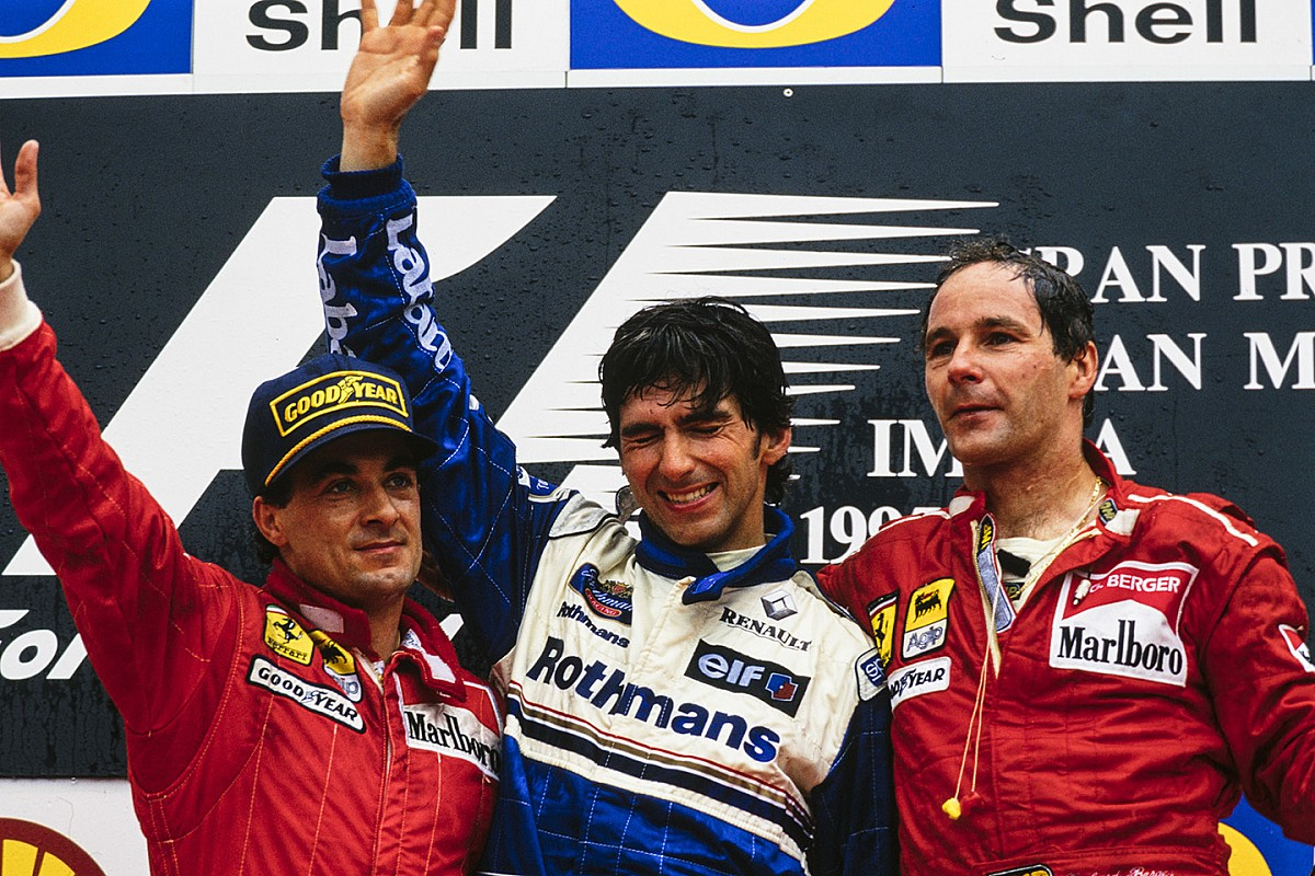 Cuando Hill conquistó Imola para Senna y Williams