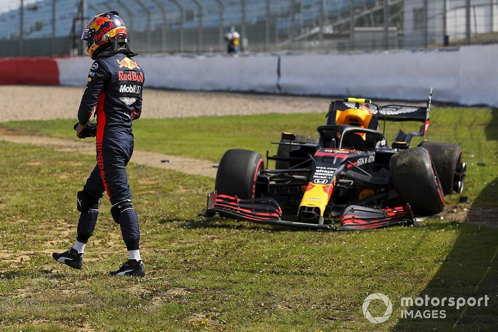 2020 F1 British GP practice results: Stroll fastest as Albon crashes