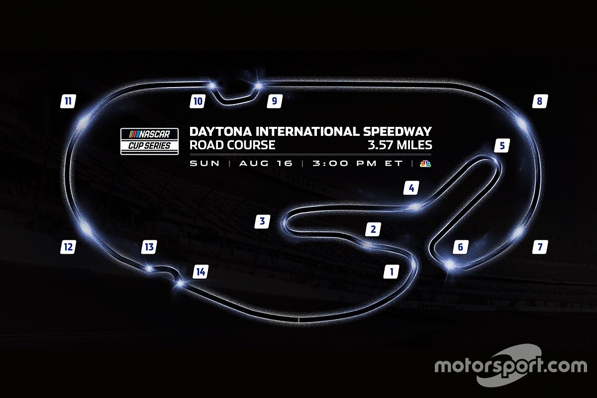 NASCAR adds new chicane to Daytona road course