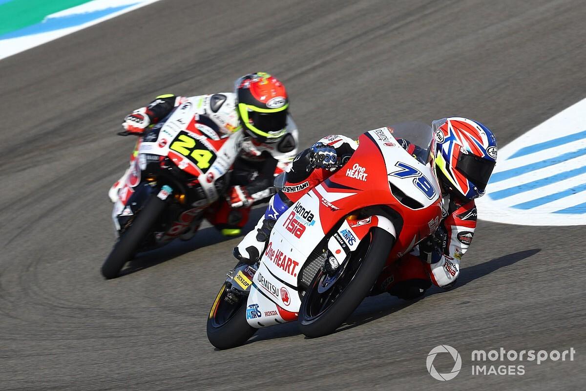 Moto3スペイン決勝:小椋藍、追い上げレースで2位獲得。ポールスタートの鈴木は8位