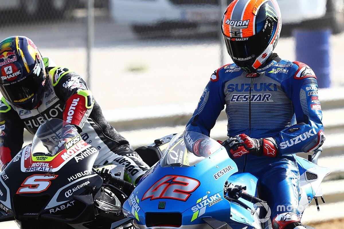 Alex Rins, declarado no apto, se pierde el GP de España