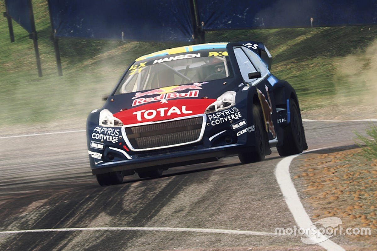 World RX Esports: Pailler wins as Hansen takes point lead