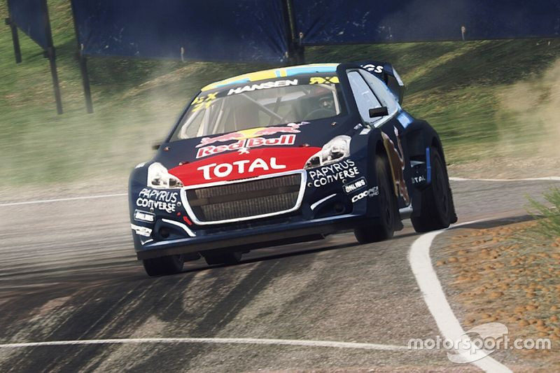 World RX Esports: Hansen beats Blomqvist to seal title