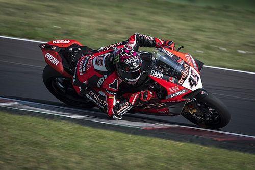 SBK, Test Misano, Day 1: Redding e Ducati al top, caduta per Rea