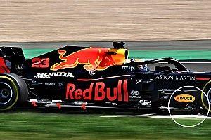 Red Bull: nel filming day anche test aerodinamici sulla RB16