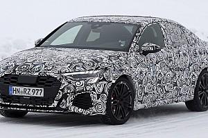 Audi RS3 Sedan, le foto spia della nuova generazione