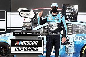 Así fue el extraño regreso a la acción de la NASCAR