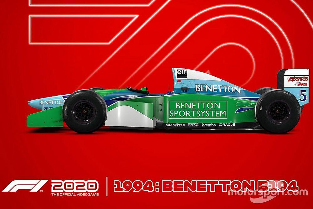 公式ゲーム『F1 2020』7月10日発売。シューマッハーの愛機を収録した限定版も