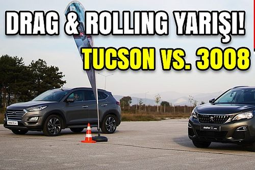 Drag: Peugeot 3008 vs Hyundai Tucson