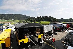 Premier aperçu du paddock au Grand Prix d'Autriche