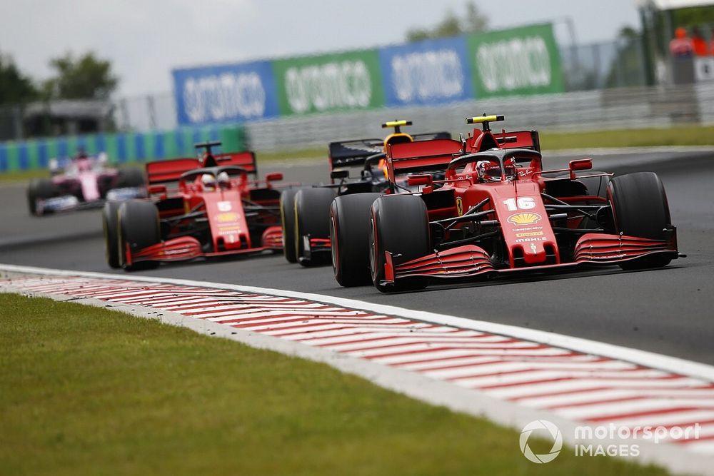 2020 F1 Hungarian Grand Prix race results