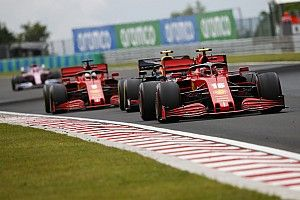 2020 F1 Hungarian Grand Prix race results