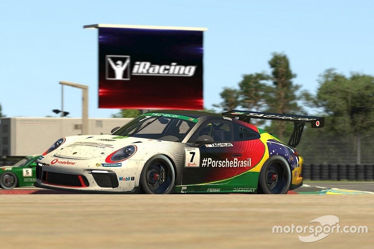 Giassi mantém sequência de top-10 na Porsche TAG Heuer Esports Supercup em Le Mans
