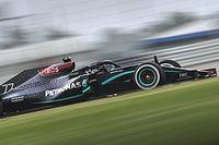 В официальную игру Ф1 добавили черную ливрею Mercedes
