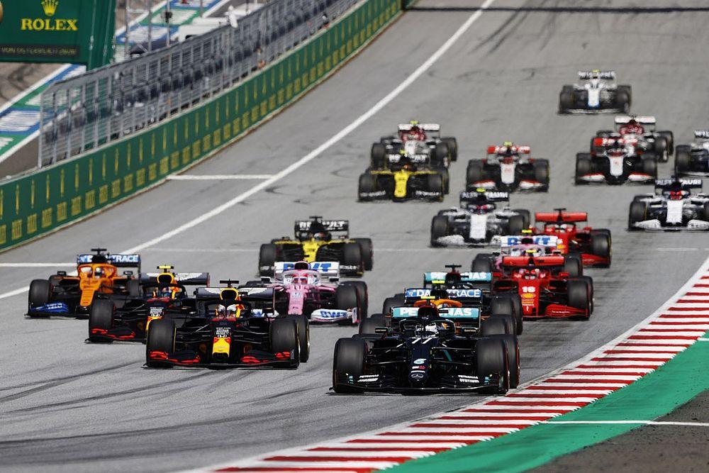 Formel 1 Österreich 2020: Die animierte Rundentabelle