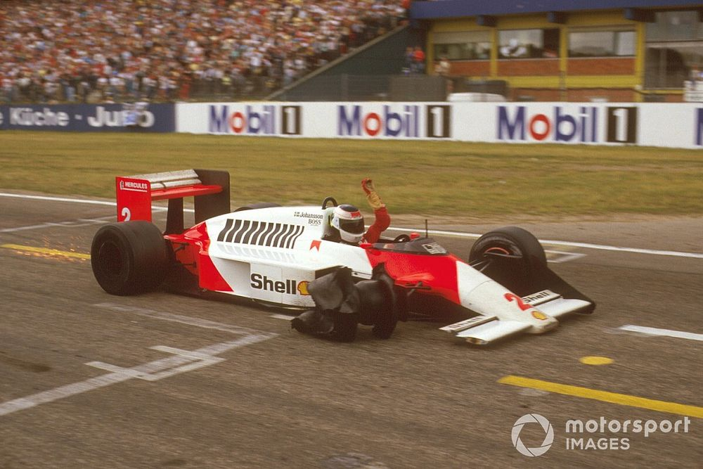 La anterior hazaña de lograr un podio en F1 'a tres ruedas'
